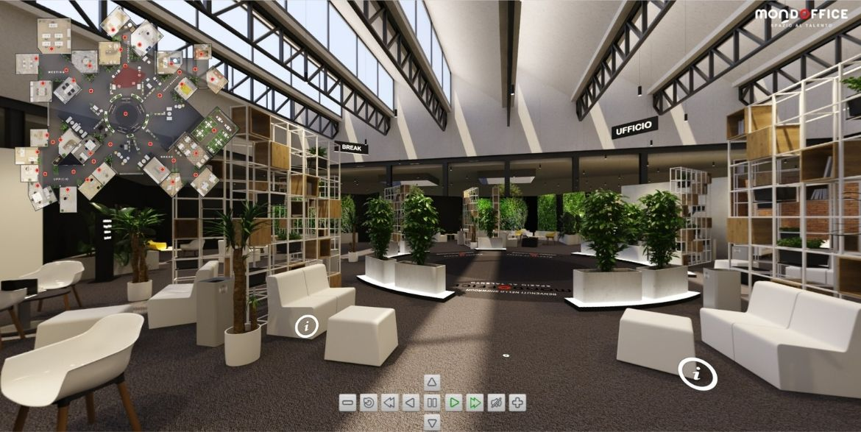 Ingresso virtual showroom Mondoffice