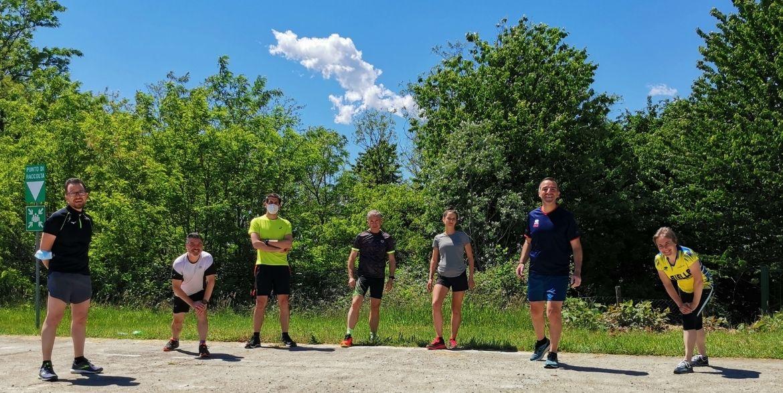 Il team di maratoneti Mondoffice
